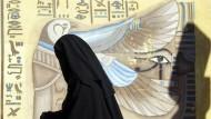 Frauen in Nordafrika sollten sich vollverschleiern, um den Zudringlichkeiten der Männer zu entgehen.