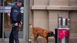 Sprengstoffhunde unzureichend ausgebildet