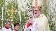 Der Münchner Erzbischof Reinhard Kardinal Marx im Juni in München