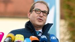 Dobrindt schiebt SPD Verantwortung für Groko-Gelingen zu