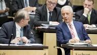 Reiner Haseloff und Stanislaw Tillich wollen ihre Partei, die CDU, nach rechts rücken.