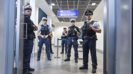 Bundespolizei hindert Rechtsextremisten an Ausreise