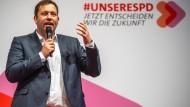 SPD-Generalsekretär Lars Klingbeil am Samstag in München