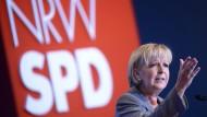 Hannelore Kraft als SPD-Landeschefin wiedergewählt