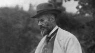 Das Streben nach Erkenntnis ist kein Job: Max Weber 1917 in Lauenstein.