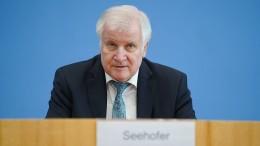 Seehofer warnt Abgeordnete vor IT-Sicherheitsproblemen im Wahljahr