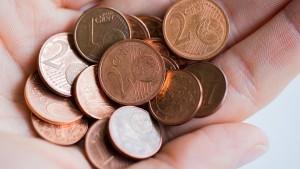 Regierungsfraktionen offen für Ende von kleinen Münzen