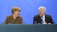CSU stellt sich auf Unterstützung Merkels ein