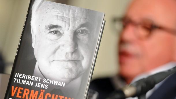"""Buch """"Vermächtnis. Die Kohl-Protokolle"""""""