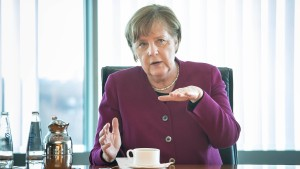 Merkels neue Tonlage