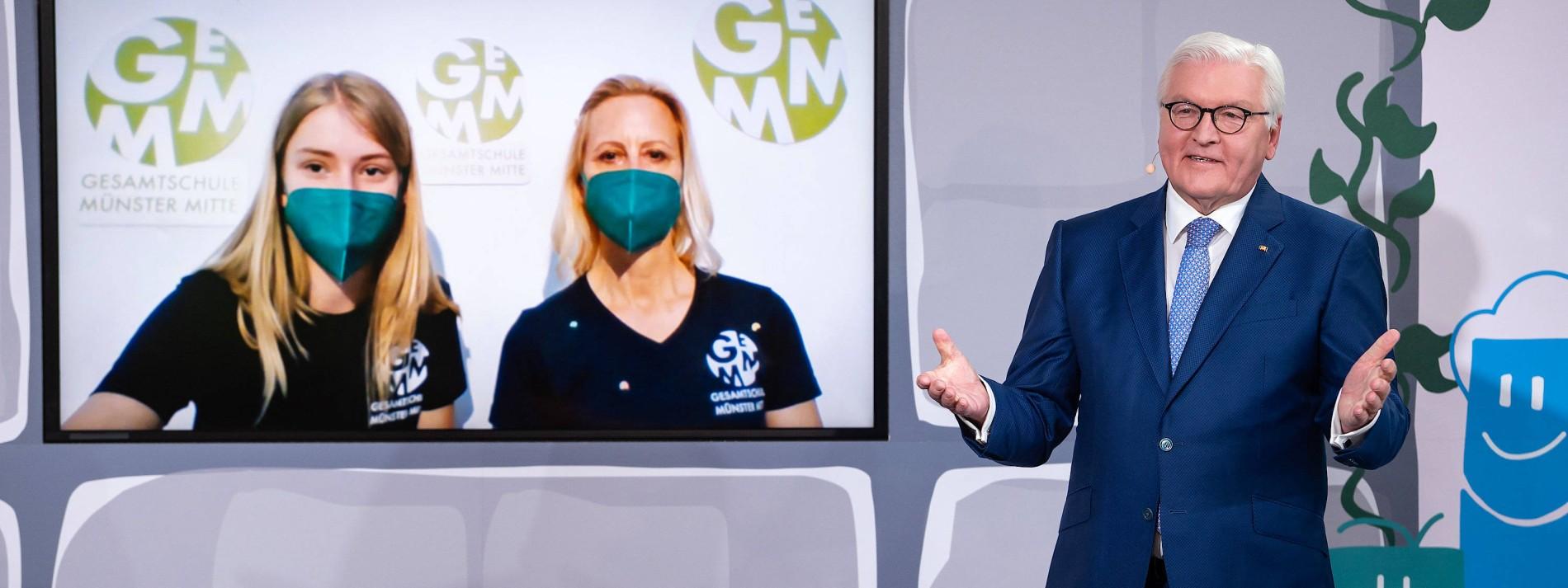 Steinmeier: Krise entblößt Schwächen im deutschen Bildungssystem