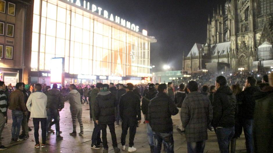 Anlass für eine Änderung des Sexualstrafrechts: Die Silvesternacht 2015 am Kölner Hauptbahnhof