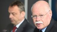 Angriff auf Bremer Regierungsgebäude