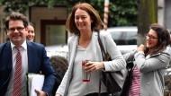 Darf sich Hoffnungen machen: Die geschäftsführende Arbeitsministerin Katarina Barley