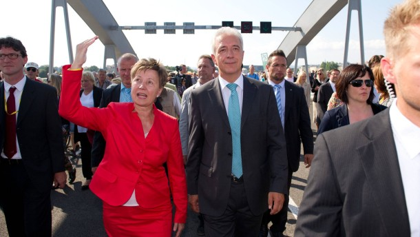 Eröffnungsfest der Waldschlößchenbrücke