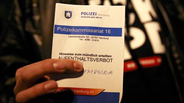 Gefahrengebiete in Hamburg sind verfassungswidrig