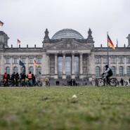 Das Reichstagsgebäude im Januar 2019