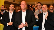 Der Thüringer FDP-Vorsitzende Thomas Kemmerich am Wahlabend in Jena