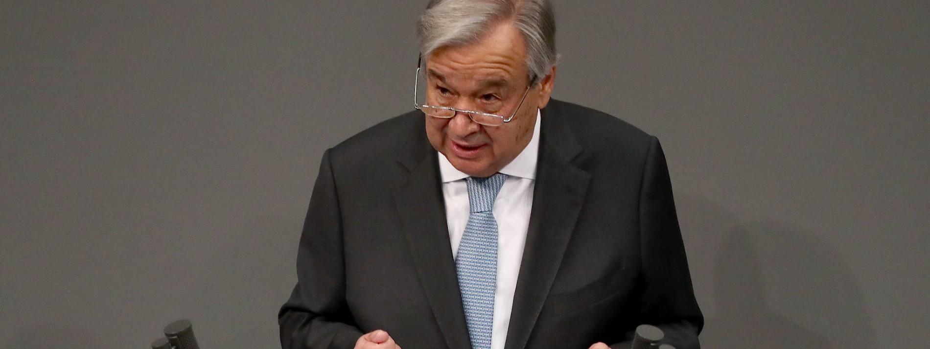 António Guterres beklagt Zunahme von Hetze und Hass im Bundestag