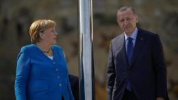 Merkel wirbt für Fortführung des Flüchtlingsabkommens