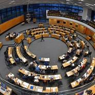 Der Thüringer Landtag im Dezember 2019