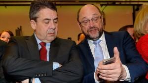 Schulz und Gabriel angeblich versöhnt