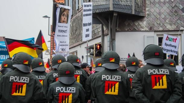 Polizeigewerkschaft bestätigt Sympathien für AfD