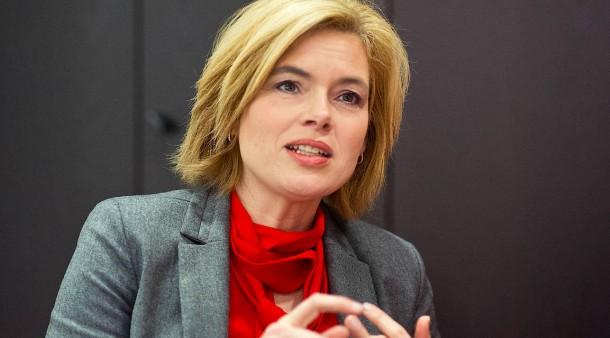 Bundesministerin für Ernährung und Landwirtschaft: Julia Klöckner (CDU)
