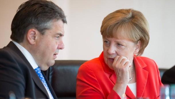 Ein Kompromiss im Koalitionsstreit über die Kanzlerin und die NSA?