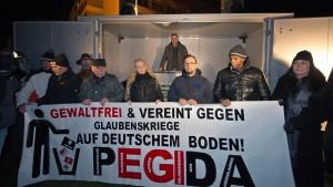 """""""Kein Platz für Hetze gegen Ausländer"""""""