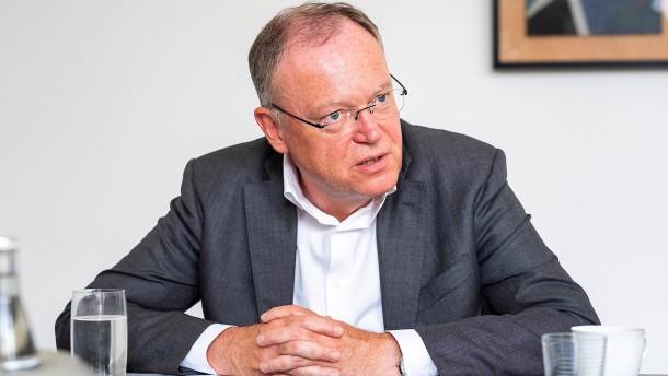 Stephan Weil verzichtet auf Kandidatur