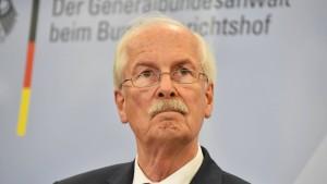 Generalbundesanwalt fordert Aufklärung vom Kanzleramt