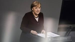 """Merkel: """"Wir sind nicht machtlos"""""""