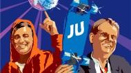Hauptsache unangepasst: Jungpolitiker Ziemiak und Pöttering