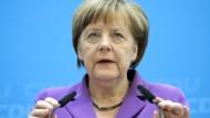 Merkel weist Täuschungsvorwürfe zurück
