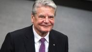 Besorgt wegen Populisten: Der frühere Bundespräsident Joachim Gauck