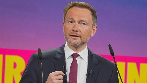 Lindner mit 93 Prozent als FDP-Vorsitzender bestätigt