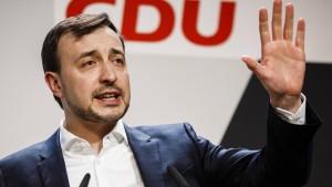 """""""Die SPD verhält sich destruktiv"""""""