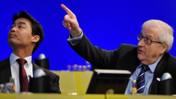 Erster Abgeordneter für Brüderle als Spitzenkandidat