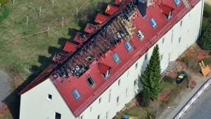 Tatverdächtiger nach Brandanschlag in Tröglitz gefasst