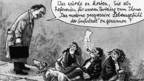 Karikatur / Greser & Lenz / Kehrt die CDU in den Metropolen zurück in die Erfolgsspur?