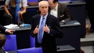 Soll Bundestagsvizepräsident werden: AfD-Kandidat Albrecht Glaser am Dienstag bei der konstituierenden Sitzung des Bundestags