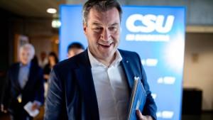 Söder: Transitzentren sind CSU pur