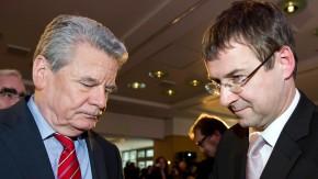 David Gill und Gauck