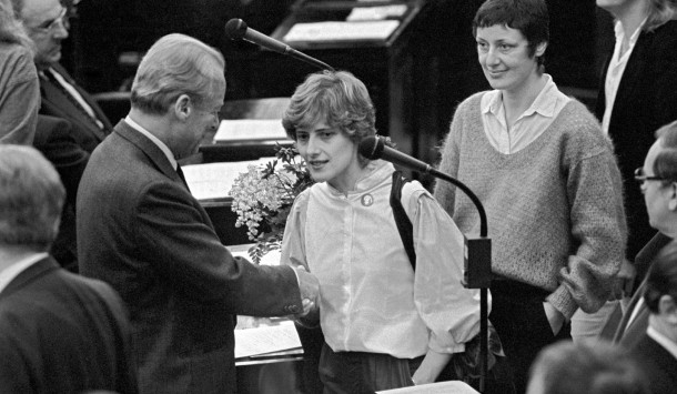 Resultado de imagen de gruene bundestag 1983 spd brandt