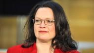 Von der kratzbürstigen Parteilinken zur bodenständigen, frauenpolitisch engagierten Politikerin: Andrea Nahles
