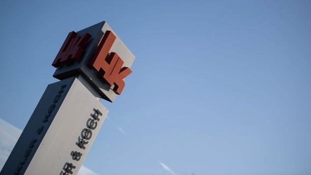 Heckler & Koch soll Sturmgewehre liefern