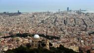 Die Bürger Barcelonas könnten am Sonntag erstmals einen separatistischen Bürgermeister wählen (Archiv).