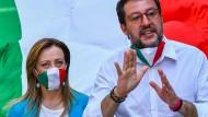Streit in Rom über Pandemie-Notstand: Draghi für Verlängerung