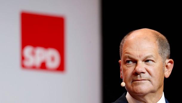Scholz sieht mögliches Bündnis mit Linkspartei skeptisch